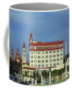 Looking Back At St Augustine Coffee Mug