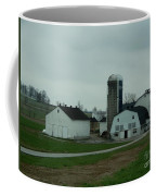 Looking Down An Amish Lane Coffee Mug