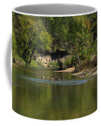 Looking Down Bryant Creek Coffee Mug