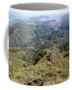 Looking Down From The Top Of Mount Tamalpais 2 Coffee Mug