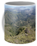 Looking Down From The Top Of Mount Tamalpais Coffee Mug