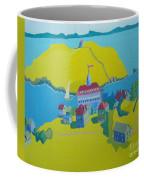 Looking Down On Monhegan And Manana Islands Coffee Mug