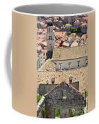 Looking Down On Old Dubrovnik Coffee Mug