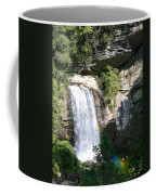 Looking Glass Falls Nc Coffee Mug