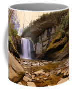 Looking Glass Falls Pisgah National Forest 2 Coffee Mug