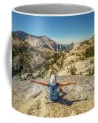 Looking Half Dome Coffee Mug
