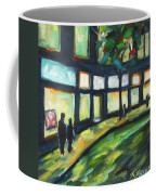 Looking On Coffee Mug