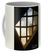 Looking Out From The Mercer Museum Coffee Mug