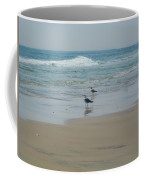 Looking Out Into The Sea Coffee Mug