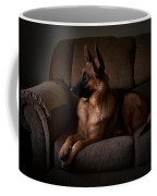 Looking Out The Window - German Shepherd Dog Coffee Mug