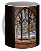 Looking Through An Arched Window At Princeton University At The Courtyard Coffee Mug