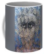 Looking Through Fire Coffee Mug