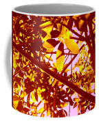 Looking Through Tree Leaves 2 Coffee Mug
