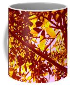 Looking Through Tree Leaves 2 Coffee Mug