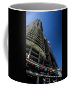 Looking Up At Chicago's Marina Towers Coffee Mug