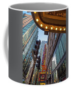Looking Up At The Boston Paramount Boston Ma Coffee Mug