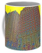 Looking Up In Love Park Coffee Mug