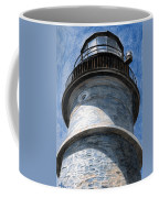 Looking Up Portland Head Light Coffee Mug
