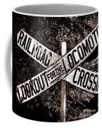 Lookout For The Locomotive Coffee Mug