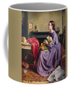 Lord - Thy Will Be Done Coffee Mug by Philip Hermogenes Calderon