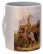 Lord Of The Tournament Coffee Mug by Edward Henry Corbould