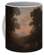 Lorena, Claudio De Chamagne, 1600 - Roma, 1682 Ford Of A River Ca. 1636 Coffee Mug