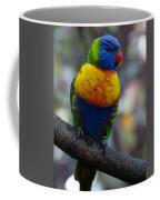 Lorikeet Parrot  Coffee Mug