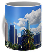Los Angeles And Palm Trees Coffee Mug