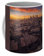 Los Angeles At Sunset Coffee Mug