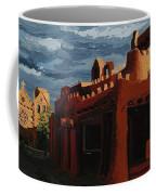 Los Farolitos,the Lanterns, Santa Fe, Nm Coffee Mug by Erin Fickert-Rowland