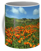 Los Olivos Poppies Coffee Mug