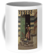 Lot 2 Raphael Von Ambros Austrian, 1855-1895 The Lamp Tender Coffee Mug