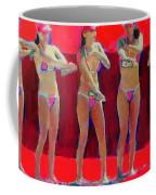 Lotion In Red Coffee Mug