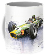 Lotus 49 Ford F1 Jim Clark Coffee Mug