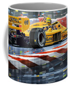Lotus 99t 1987 Ayrton Senna Coffee Mug