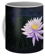 Lotus Blossom At Night Coffee Mug
