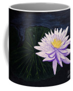 Lotus Blossom At Night Coffee Mug