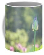 Lotus Bud In Garden Coffee Mug