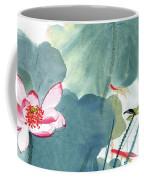 Lotus Figure Coffee Mug