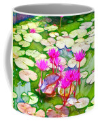 Lotus Flower 3 Coffee Mug