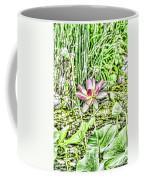 Lotus Flower Bloom In Pink 2 Coffee Mug