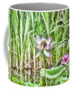 Lotus Flower On The Water Coffee Mug