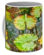 Lotus Flowers Leaves Coffee Mug