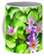 Lotus In Pond Coffee Mug