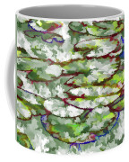 Lotus Leaves Coffee Mug