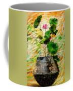 Lotus Tree In Big Jar Coffee Mug