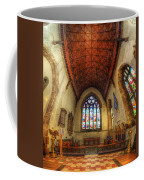 Loughborough Church - Altar Vertorama Coffee Mug