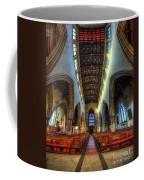 Loughborough Church - Nave Vertorama Coffee Mug