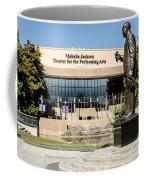 Louis Armstrong Bronze - Mahalla Jackson Theater - New Orleans Coffee Mug