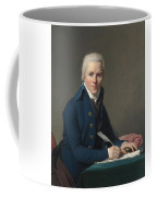 Louis David   Portrait Of Jacobus Blauw Coffee Mug